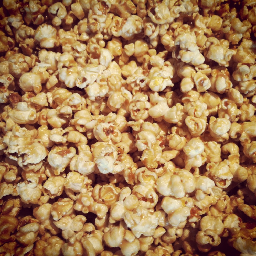 Caramel popcorn yo!