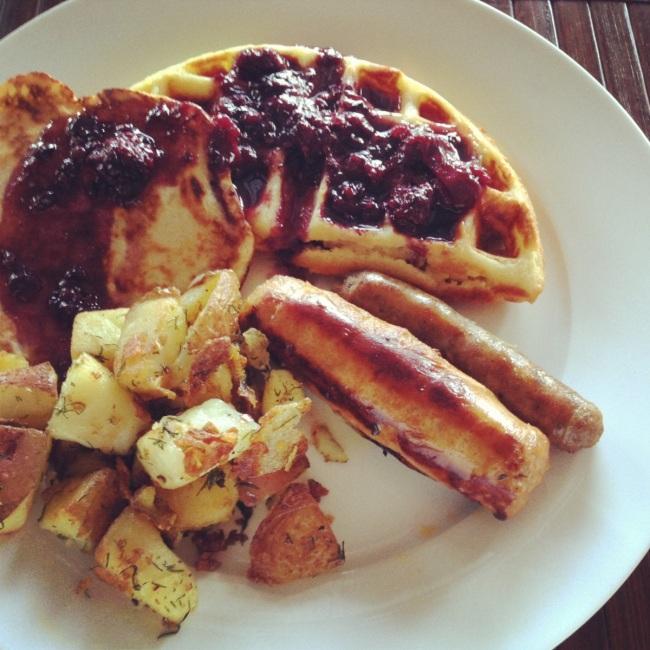 Waffles: Pineapple & Coconut gluten-free...